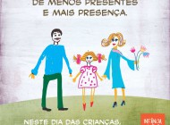 Menos presentes, mais presença – Neste Dia das Crianças, tire o foco do consumismo