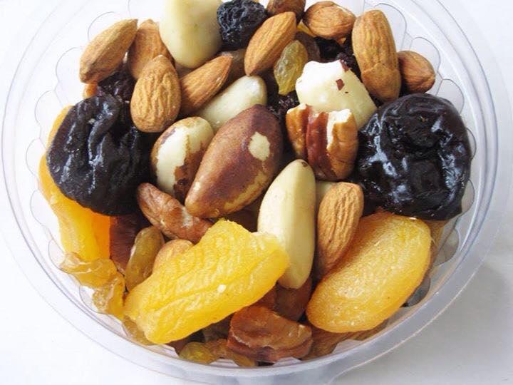 Mix de castanhas e frutas secas