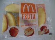 A maçã do palhaço: sintético não é natural