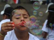 Queremos as crianças numa bolha, sim